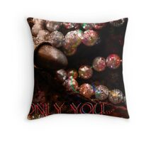 Card. Only You. Throw Pillow