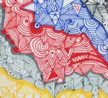 WAVVES BREAK - LARGE FORMAT - VERTICAL LAYOUT Sticker