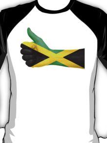 Jamaica OK Hand Flag T-Shirt