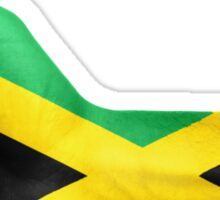 Jamaica OK Hand Flag Sticker
