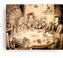 You're Nothing but a Pack of Cards! Canvas Print