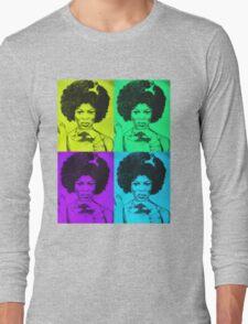 Afro Woman Long Sleeve T-Shirt