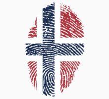 Norwegian Fingerprint Flag Kids Clothes