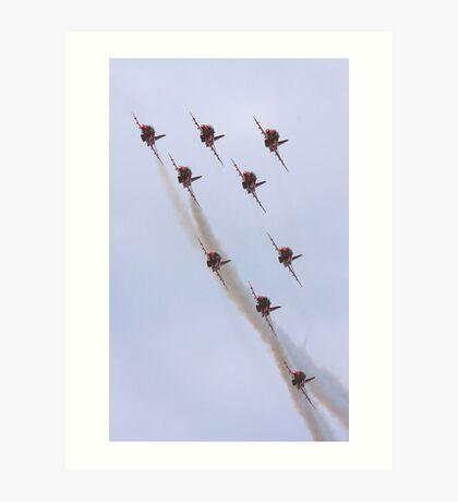Red Arrows 2010 b Art Print