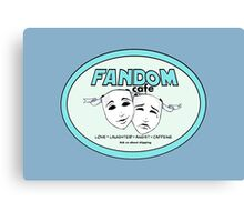 Fandom Cafe Canvas Print