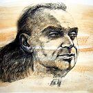 Portrait of Ricki by Roz McQuillan