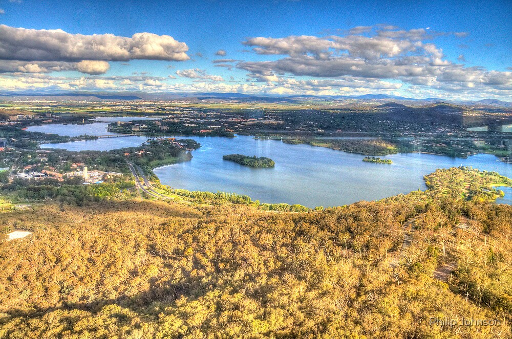 Up In The Air #2 - Black Mountain, Canberra - The HDR Experience by Philip Johnson