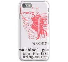 Machine Gun - The Peter Brötzmann Octet iPhone Case/Skin