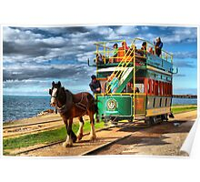 Horse Drawn Tram Poster
