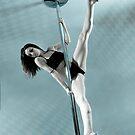 Pole Art  - Aqua by hannahelizabeth