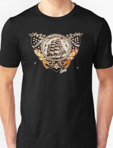 Tattoo Ship Unisex T-Shirt