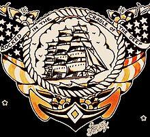 Tattoo Ship by chupalupa