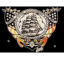 Tattoo Ship Photographic Print