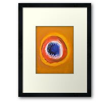 DELIGHT OF THE CANNIBAL Framed Print