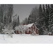 Hällabacken, Sweden Photographic Print