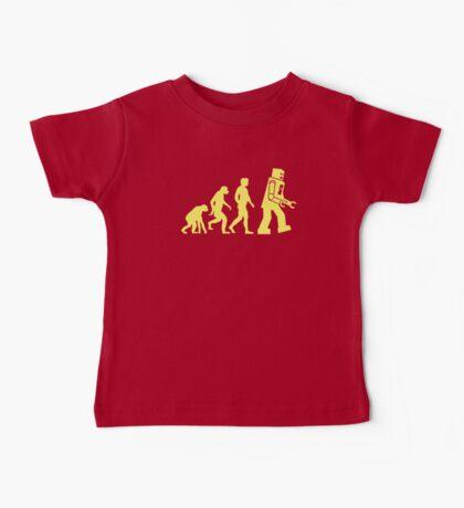 Sheldon Robot Evolution Baby Tee