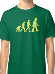 Sheldon Robot Evolution Classic T-Shirt