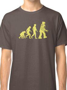 Sheldon Robot Evolution Classic T-Shirt