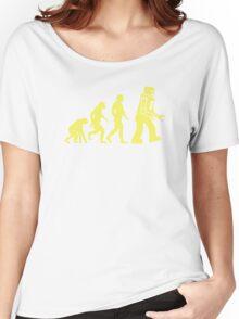 Sheldon Robot Evolution Women's Relaxed Fit T-Shirt