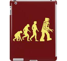 Sheldon Robot Evolution iPad Case/Skin