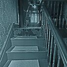 The Lady at the top of the Stairs by bazcelt