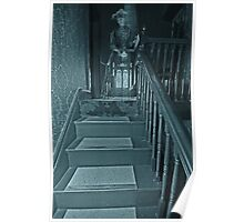 The Lady at the top of the Stairs Poster