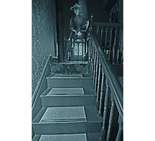 The Lady at the top of the Stairs Photographic Print
