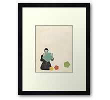 Discovering New Shapes Framed Print