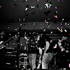 Metalphetamine Last gig Confetti by Trevor Fellows