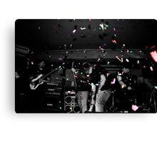 Metalphetamine Last gig Confetti Canvas Print