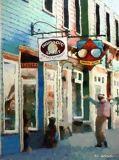 Dancing in the Street by RC deWinter