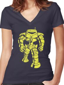 Sheldon Bot Women's Fitted V-Neck T-Shirt