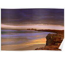 Canunda coastline Poster