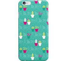 Mini Cactus Love iPhone Case/Skin