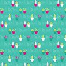 Mini Cactus Love by joyfulroots