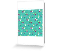 Mini Cactus Love Greeting Card