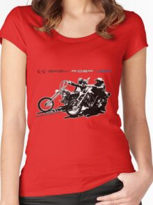 easy rider usa Women's Fitted Scoop T-Shirt
