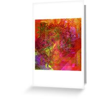 Card. Lovely Painting. Greeting Card