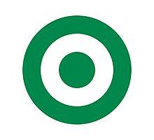 Green Roundel Photographic Print