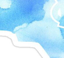 UNC - Watercolor State Sticker