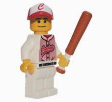 LEGO Baseball Player One Piece - Long Sleeve