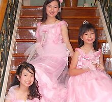 bride's maid and flower girl gown design 1 by walterericsy