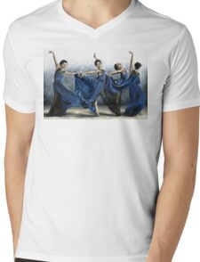 Sequential Dancer Mens V-Neck T-Shirt