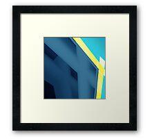 Blueee Framed Print