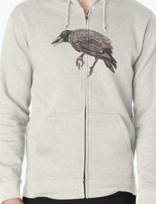 Crow  Zipped Hoodie