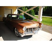 1956 Lincoln Continental Photographic Print