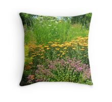 A walk through loveliness Throw Pillow