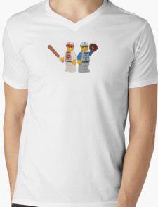 LEGO Baseball Players Mens V-Neck T-Shirt