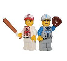 LEGO Baseball Players by jenni460