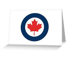Canadian Roundel Greeting Card